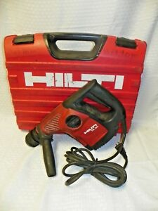 Hilti Te30 Sds Heavy Duty Concrete Saw W 10 bits Red Carry Case Reduced 10 22