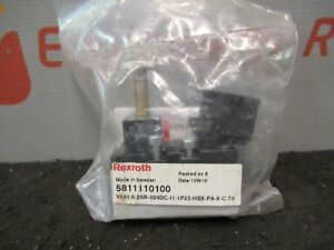 Rexroth Bosch 5811110100 V581 Directional Control Valve 10 Bar 24vdc 5w New