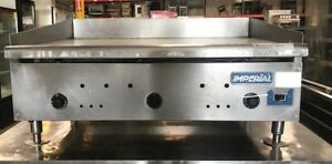Imperial Isae 36 36 Counter Top Flat Griddle Snap Action Natural Gas Commercial