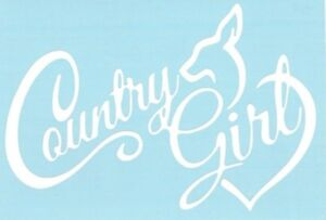 Country Girl Hunting Deer Car Truck Suv Vinyl Sticker Decal