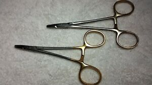 Miltex Surgical Needle Holders 6 Tungsten Carbide Handles