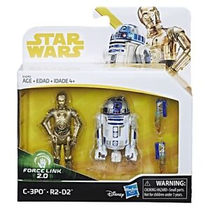 Star Wars Force Link 2.0 C3PO + R2-D2 Toys R Us Exclusive-New & Sealed-Fast Ship