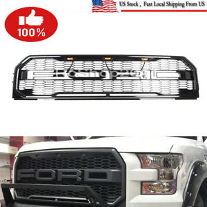 For 2015 2017 Ford F 150 F150 Raptor Style Conversion Front Grille Grill F R D