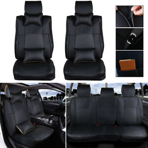 Pickup Trusk Seat Covers Set For Dodge Ram 1500 2500 3500 2013 2019 Pu Leather
