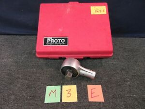 T E T e Tools 5074 Te5074 Torque Multiplier Wrench 2000 Ft Lbs Missing Handle