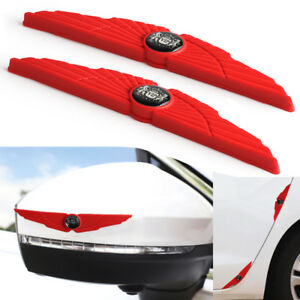 Red Car Door Protector Car Door Guard Edge Strips Door Handle Car Door Sticker