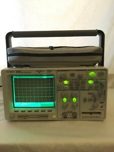 Agilent 54641d Mixed signal Digital Oscilloscope Logic Analyzer 2 16 Ch 350 Mhz