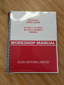 Isuzu Aa 4bg1t Aa 6bg1 Bb 4bg1t Bb 6bg1t Engine Workshop Manual b228
