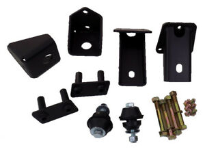 Jeep Yj Wrangler Sbc Chevy V8 V6 Motor Mounts Ford Style Biscuit Bolt in No Weld