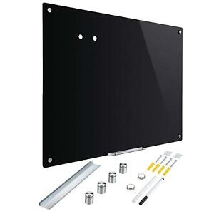 Co z Magnetic Dry Erase Board Frameless Glass Whiteboard Note Memo Eraser Wall