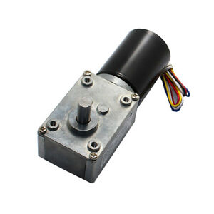 Gw4058 bl3650 Dc12 24v Permanent Magnet Brushless Worm Gear Motor For Robots