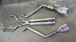 C4 92 96 Lt1 Lt4 Corvette Chambered Exhaust W c6 Tips Listen Now