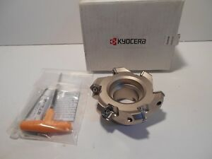 Kyocera Face Mill Mfpn454000r6t 45 Degree Angle 4 Inch Cutting Dia New