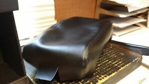 Black Armrest Arm Rest Center Console Lid Skin Material Replacement Cover