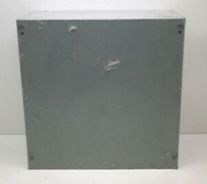 Milbank 12126 sc1 Screw Cover Junction Pull Box Enclosure 12 X 12 X 6
