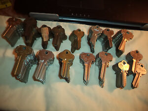 215 Nos de Key Blanks Dexter Locks More ilco Taylor Curtis Cole More