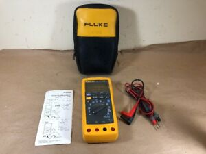 Fluke 189 True Rms Muiltmeter W Accessories
