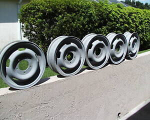 5 Military Magnesium Rim M151 M151a1 M151a2 Jeep Sand Blasted Ready For Paint