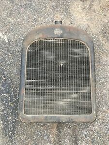 Nash Radiator Shell Grille Grill Early 1930s Rat Rod Original