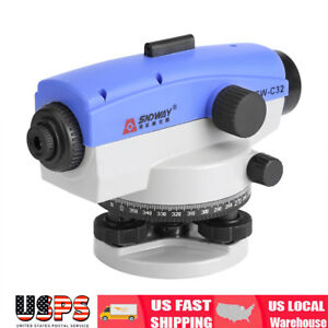 Sndway 32x Optical Level Self leveling Tool Accuracy Engineering Measuring Tool