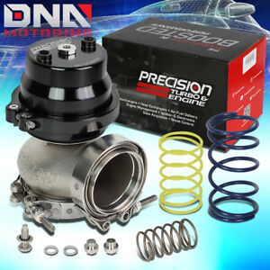 Precision Turbo Charger Manifold Pw66 66mm V band External Wastegate W springs