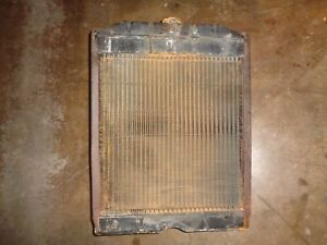 Ford Tractor 600 800 jubilee Engine Radiator