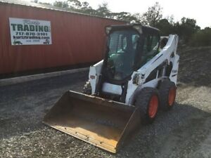 2015 Bobcat S570 Skid Steer Loader W Cab