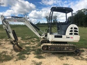2006 Terex Hr16 Excavator W mechanical Thumb And 2 Buckets