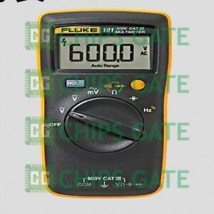 1pcs 59 9new Fluke 101 Kit Palm sized Digital Multimeter F101 With Magnetic St