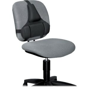 New Fellowes 8037601 Professional Series Back Support With Microban