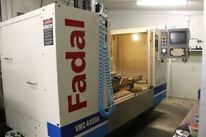 Fadal Vmc 4020 A Ht New In 2000