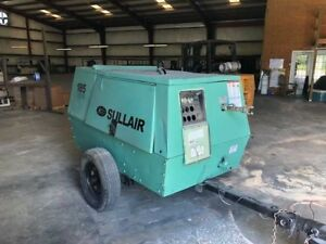 Sullair 185jd Diesel Powered Air Compressor
