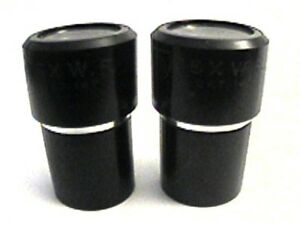 Ao American Optical Microscope Cat No 147 15x Widefield Eyepieces