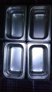 Winco Stainless Steel Steam Table Pans Spjh 902 Nsf 22 Gauge 4 Pans