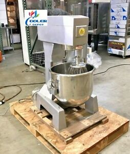 New 40 Quart Mixer Machine 3 Speed Bakery Kitchen Equipment Mx40 Commercial