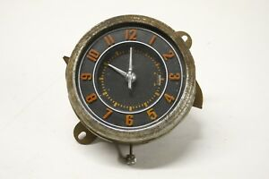 Original 1946 Ford Deluxe Super Deluxe Coupe Sedan Electric Dash Clock Assembly