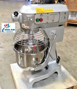 New 20 Quart Mixer Machine 3 Speed Commercial Bakery Kitchen Equipment Nsf Etl
