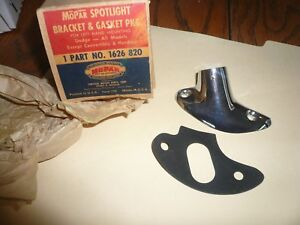 Nos Dodge All Models Spotlight Bracket Gasket Lh Except Conv t Hardtops
