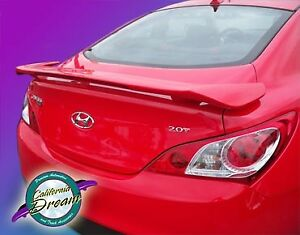 Fits Hyundai Genesis Coupe 2010 2017 Factory Style Rear Spoiler primer Finish