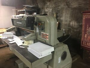 Paper Cutter 115 Polar With Microcut Installed