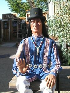 Cowboy Mannequin Life Size Poseable Old West Scout Mannequin