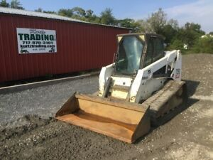 2005 Bobcat T250 Tracked Skid Steer Loader W Cab