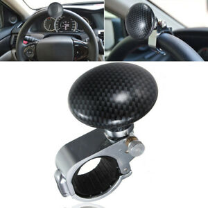 Auto Car Power Steering Wheel Ball Suicide Spinner Handle Knob Booster Us Stock