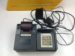 Verifone Tranz 380 Credit Card Reader W 250 Printer Base