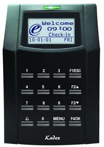 Fingertec Usa Kadex Fingertec Access Control And Time Attendance Rfid With Pin
