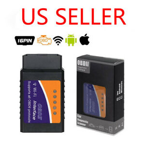Elm327 Obd2 Bluetooth wifi Car Diagnostic Tool Elm 327 Obd Ii Scanner