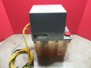 Willy Vogel Oil Lubrication System Lube Tank 122 049 306 Maho Mh600e Cnc Mill