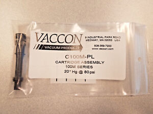 C100m pl Vaccon Cartridge Assembly 20 Hg