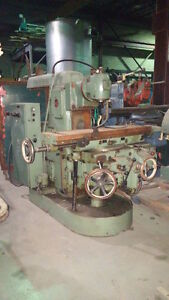 Hindustan Horizontal Milling With Tos Universal Vertical Head Universal Table