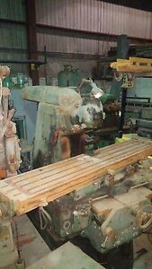 Tos Horizontal Milling Swivel Vertical Head 40 Taper maybe Sold